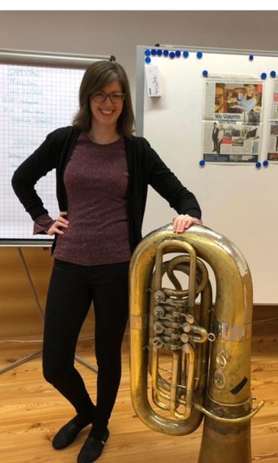 Claudia Pichler: Tuba und Valentin