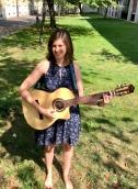 Meine neue Gitarre im ewigen Sommer